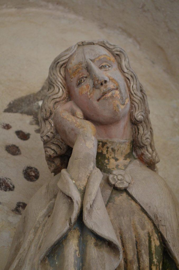 Sureva Johannes, Hattulan kirkko, 1400-luvun puoliväli. Kuva: Katri Vuola